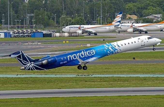 Nordica powróciła z rejsami do Warszawy dla PLL LOT