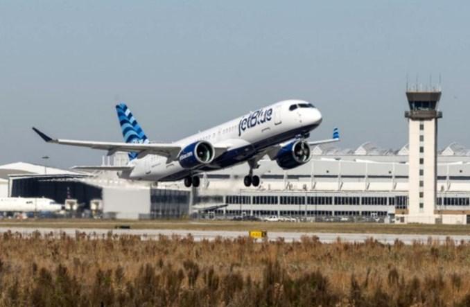Pierwszy kontrakt Airbusa w Ameryce Północnej na obsługę floty A220