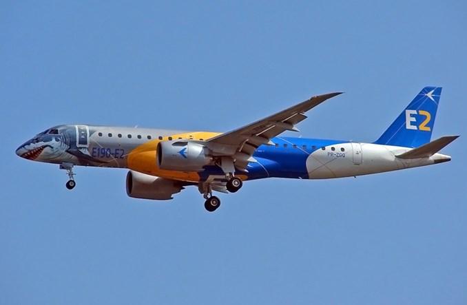 Embraer E190-E2 z certyfikatem stromego podejścia