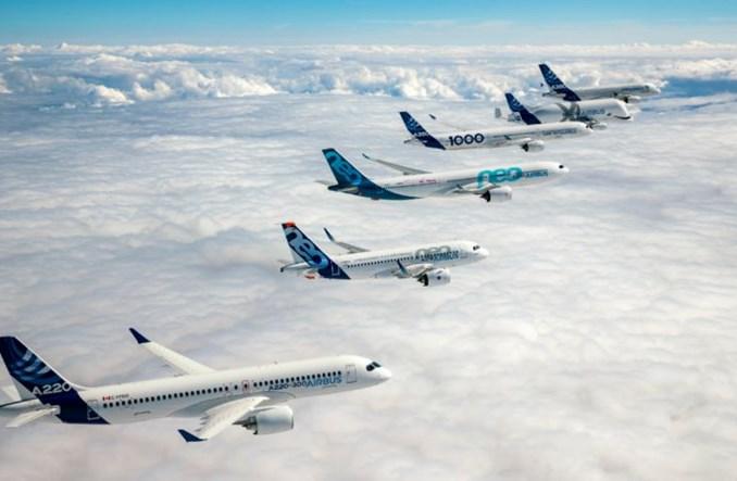 Airbus dostarczył w maju 50 samolotów. Najwięcej odebrano A320