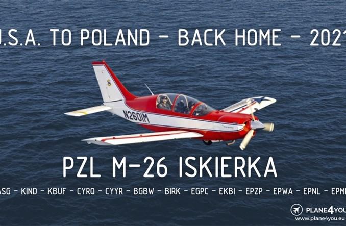 Rozpoczyna się powrót PZL M26 Iskierka z USA do Polski