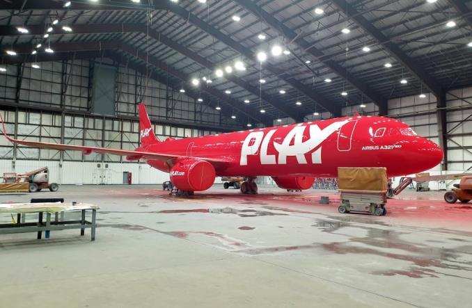 PLAY odebrał już pierwszego A321neo. Inauguracja rejsów 24 czerwca