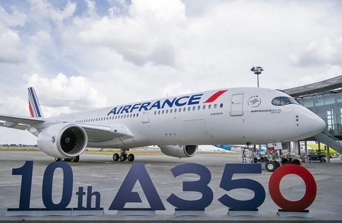Linia Air France odebrała 10. airbusa A350-900