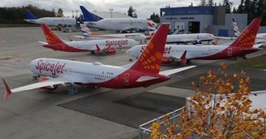 SpiceJet odkładają ponowną certyfikację boeingów 737 MAX