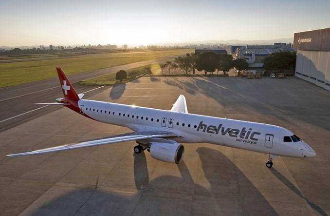 Helvetic Airways odebrały ostatniego z zamówionych embraerów E2