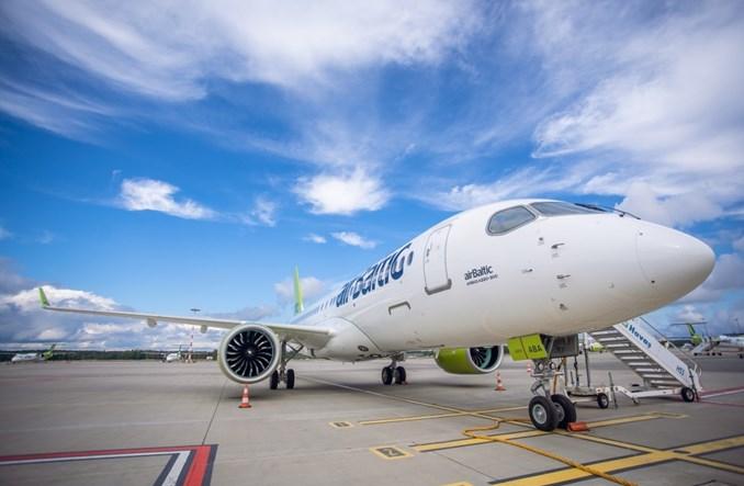 27. airbus A220-300 dla airBaltic już w Rydze
