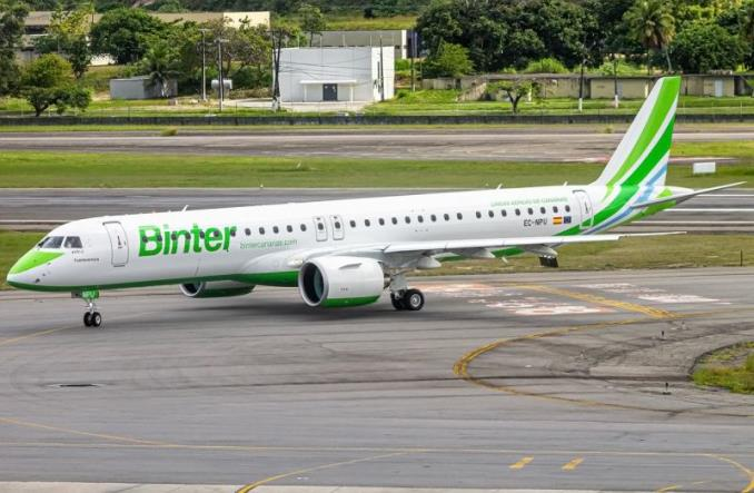 Piąty E195-E2 wzmocnił flotę Binter Canarias