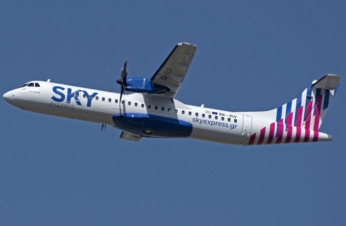 Greckie SKY express odebrały pierwszego ATR-a 72-600