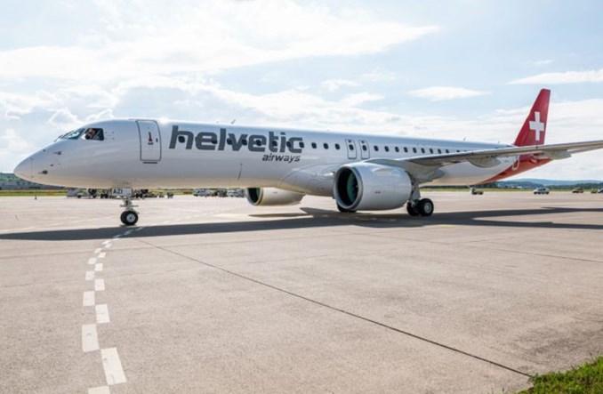 Dwa odrzutowce Helvetic Airways będą latać z EuroAirport