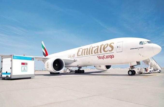 Już 150 mln dawek szczepionek przeciw COVID-19 poleciało z Emirates