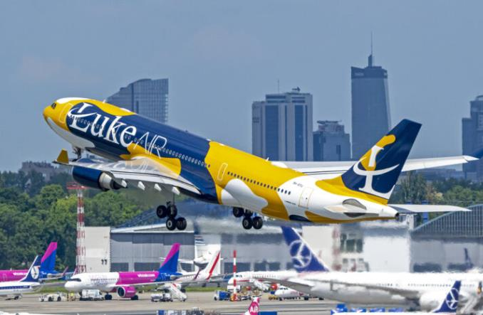 Wzrost operacji lotniczych w Polsce. Ponad 1000 każdego dnia w czerwcu