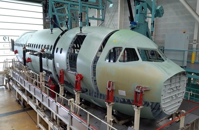 Airbus rozpoczyna montaż przedniej części kadłuba A321XLR