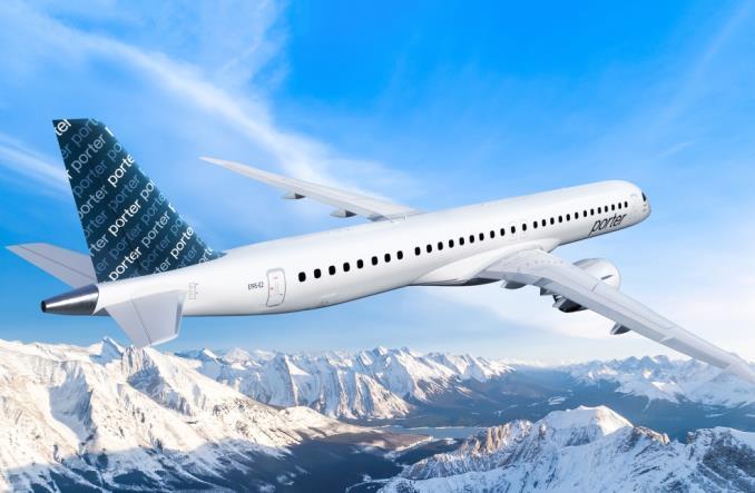 Porter Airlines planuje ekspansję i zamawia 30 embraerów E195-E2