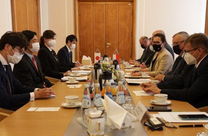 Polsko-japońskie rozmowy o współpracy infrastrukturalnej