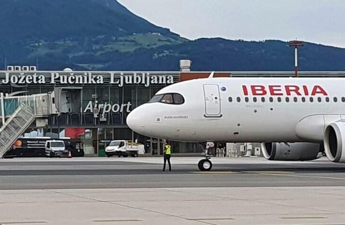 Iberia zainaugurowała rejsy do Słowenii. Trasa wygrała w konkursie