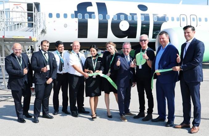 Sześć nowych tras Flair Airlines i plany ekspansji w USA