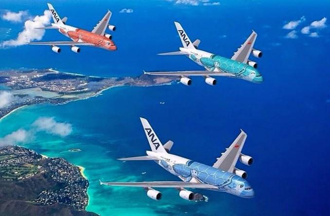 ANA wznowiła rejsy A380 między Japonią i Hawajami