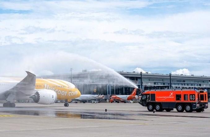 Scoot zainaugurował rejsy z Singapuru do Berlina przez Ateny