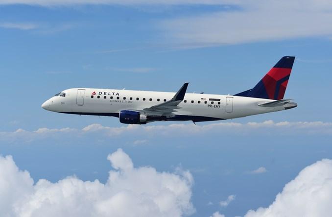 SkyWest zamawia kolejnych 16 embraerów E175. Polecą w barwach Delta Air Lines