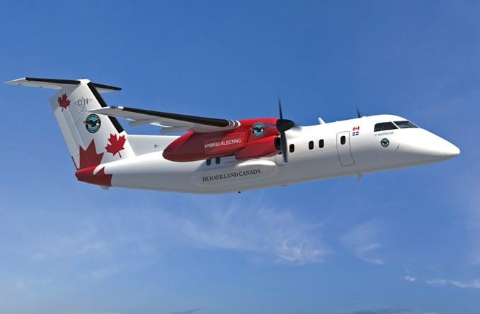 De Havilland dostarczył ostatniego Dasha 8-400. Rozpoczyna pracę nad hybrydowym Dashem 8-100