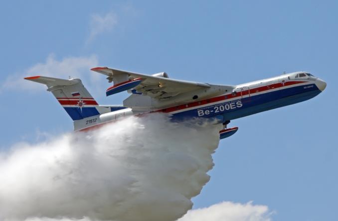 Katastrofa Beriewa Be-200 w Turcji. Pomagał gasić pożary lasów