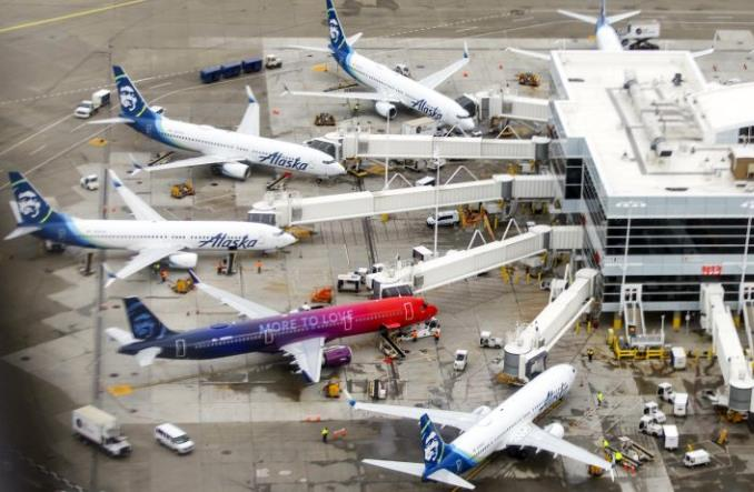 Alaska Airlines zamówiły jeszcze tuzin boeingów 737 MAX