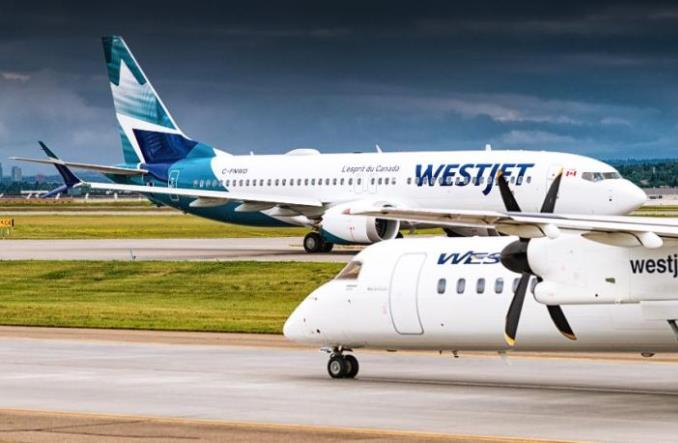 Boeingi 737 MAX kanadyjskich WestJet dolecą do Szkocji