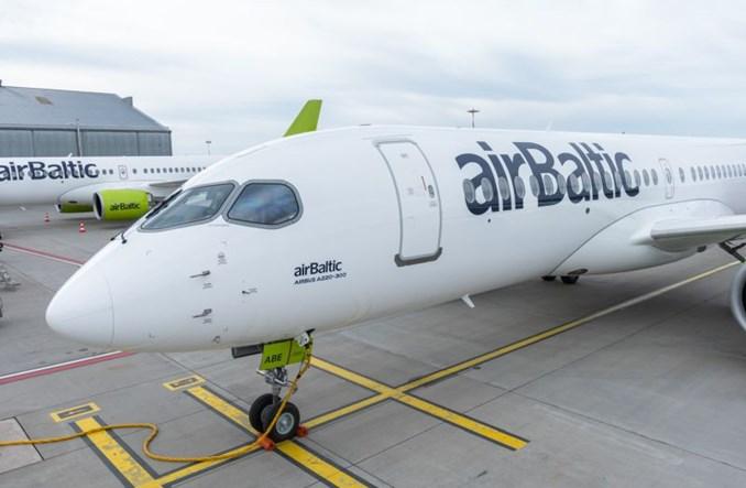 31. airbus A220-300 dla airBaltic już w stolicy Łotwy