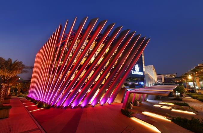 Dubaj: Pawilon Emirates gotowy na przyjęcie gości na Expo 2020 (zdjęcia)