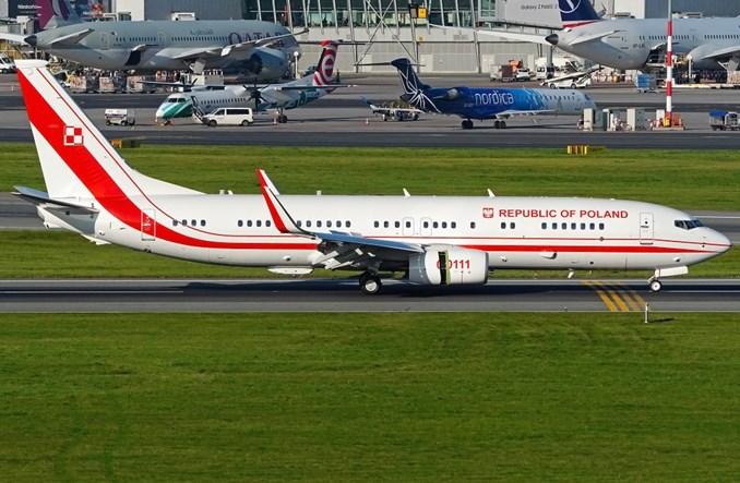 Kolejny boeing 737 MON-u już na Lotnisku Chopina