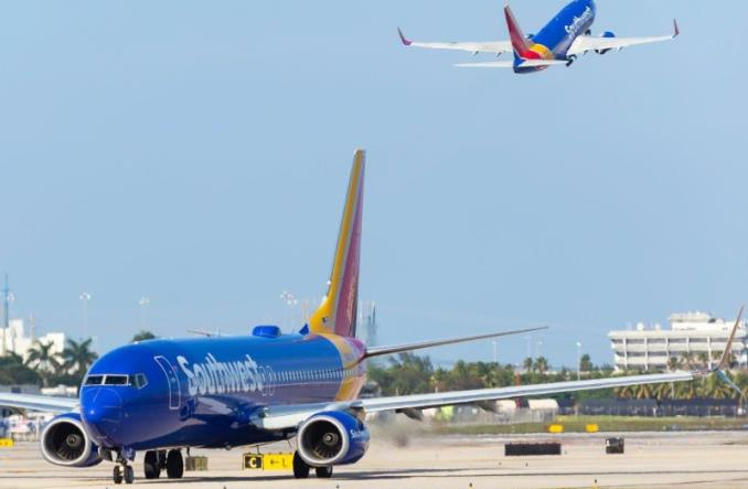 Drugi dzień z rzędu sporych anulacji lotów Southwest Airlines