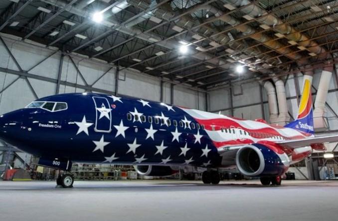 Ponad 2500 anulacji lotów Southwest Airlines i spadek cen akcji