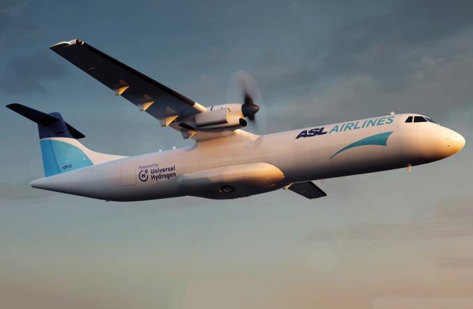 Universal Hydrogen i ASL zasilą wodorem samoloty ATR 72