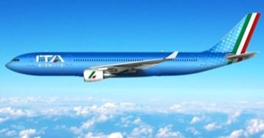 ITA Airways zastępuje Alitalię: Pożegnanie z historycznym logo, niebieskie barwy i flaga na stateczniku