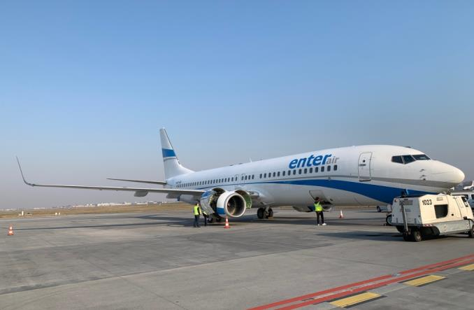 Enter Air odebrał kolejnego Boeinga 737-800