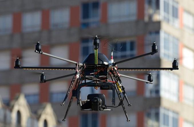 Drony wkraczają do branży energetycznej