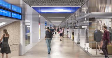 Dworzec jako lotnisko?