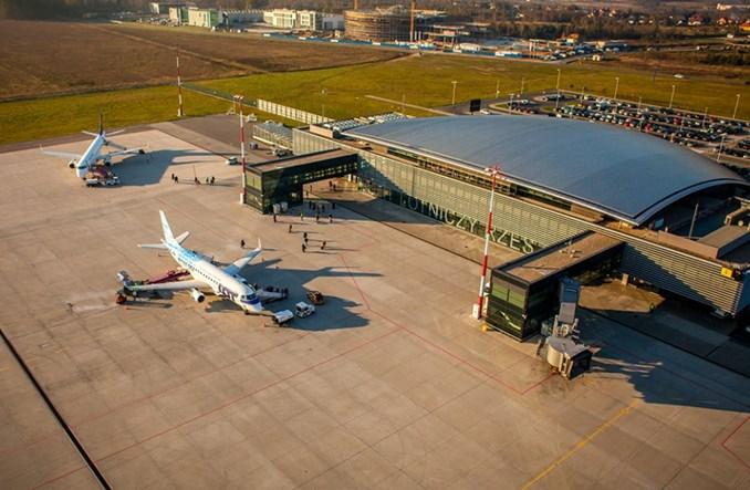 Rzeszów-Jasionka: Niewielki wzrost przewozów pasażerskich w marcu